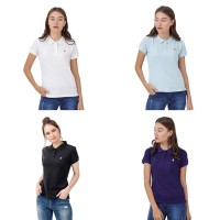 Grosir - HUSH PUPPIES 100 Original Polo Shirt Wanita branded murah bk