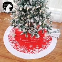 Gratis Ongkir lovelysmile 122cm Merry Christmas Tree Skirt Apron