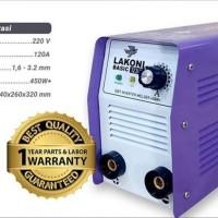 LAKONI 123IX 450 Watt Mesin Las Listrik Inverter Travo