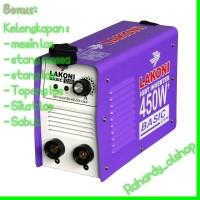 LAKONI Basic 123IX 450 Watt Mesin Las Listrik Inverter Travo bon