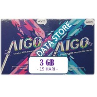 ( murah ) Voucher Axis Aigo MINI 3 GB 15 Hari