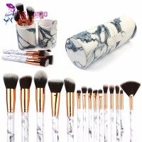 Terlaris 1Set 15Pcs Brush Makeup Aneka Desain + Wadah Case Organiser