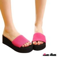 Sandal Selop Wanita untuk Indoor / Outdoor / Musim Panas