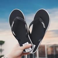 Npjx Pria Musim Panas Sandal Jepit Sepatu Pantai Pria Sepatu indoor