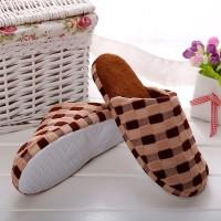 Sandal Selop Bulu Imitasi Hangat untuk Indoor / Musim Dingin