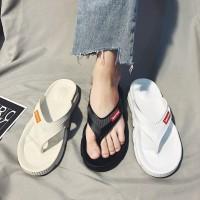 Npjx Sandal Jepit Pria untuk Indoor / Outdoor / Musim Panas / Pantai