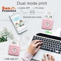 Ready Stock Thermal Bluetooth Printer Mini Wireless POS