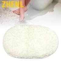 Zhenl Memory Foam Bath Mat Non Slip Super Absorbent Bathroom Rug