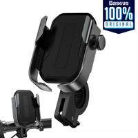 Bike Mount Holder Sepeda Baseus Armor Motorcycle Phone Grip Stand Hp
