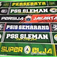 Syal Persebaya Surabaya Premium Persija PSIS PSS Sleman Syal dan Scarf