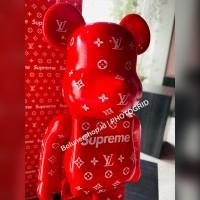 Bearbrick 400% Supreme Lv red Be@rbrick Figure