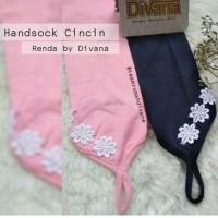Handsock Cincin Renda Divana / Manset