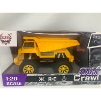 Mainan anak RC truk pasir / rack crawl / off road
