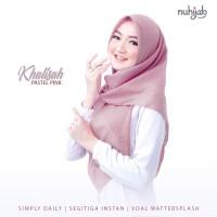 Jilbab Segitiga Voal Instan Khalisah Ori Nuhijab - Hijab instan polos