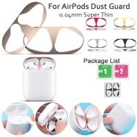 Apple Airpods 1&2 Case Anti Dust Stiker Pelindung 18K Gold
