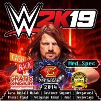 WWE 2K19/DVD GAME PC/KASET GAME LAPTOP