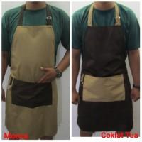 celemek barista / apron barber / apron chef / apron barista