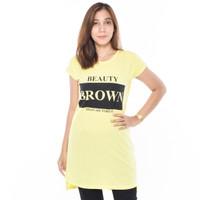 SEYES 3208 Kaos Tunik Wanita Lengan Pendek Atasan Cewek Premium