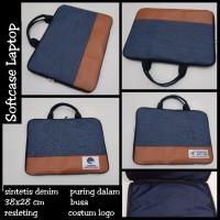 sofcase costum / tas laptop costum / softcase seminar / merchadise