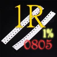SMD 1R 1 Ohm Resistor 0805 1% SMT