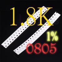 SMD 1.8K Ohm 1K8 Resistor 0805 1% SMT