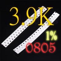 SMD 3.9K Ohm 3K9 Resistor 0805 1% SMT