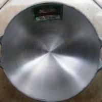Wajan Penggorengan Alumunium Cekung Tebal Dalam No.10 Diameter 24cm