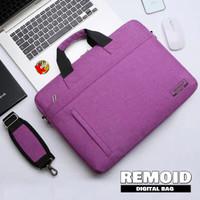 Tas Selempang Laptop / Hand Bag Laptop Macbook Anti Air Remoid 14 Inch