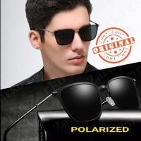 Origanal kacamata hitam pria polarized UV 400 retro 8204 terpolarisasi