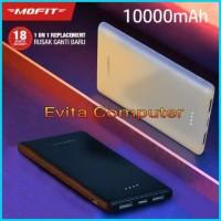 MOFIT M11 Powerbank 10000mAh Fast Charge Real Capacity