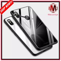 Case Xiaomi Redmi 6 Pro Luxury Glass Case Back Cover