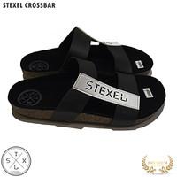 STEXEL CROSSBAR Sandal Pria Casual Handmade Original gaya korea