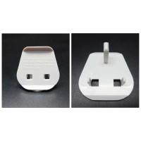 Adaptor Colokan Plug Key 13 A Putih Polos / Stop Kontak 3 Kaki Tiga