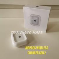 WIRELESS CHARGER CHARGING ADAPTOR AIRPOD AIRPODS GEN 2 TERMURAH