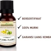 HOT SALE Happy Green Pure Ylang Ylang Essential Oil -10ml Minyak Bunga