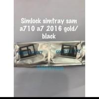 SIM TRAY TEMPAT KARTU SIM SIM LOCK SAMSUNG A7 2017 A710