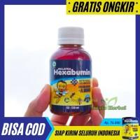 Walatra HEXABUMIN Madu Murni Plus Albumin Vitamin Nafsu Makan Anak
