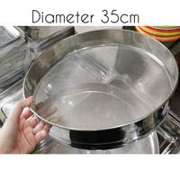 powder strainer / pengayak tepung / saringan tepung 35cm