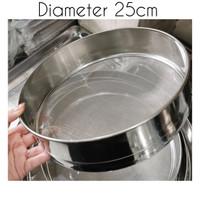 Powder strainer / ayakan tepung / saringan tepung 25cm