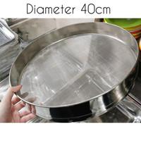 powder strainer / pengayak tepung / saringan tepung stainless 40cm