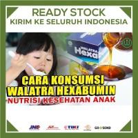 Nutrisi Tambahan Untuk Anak Walatra Hexabumin Asli (Madu + Albumin)