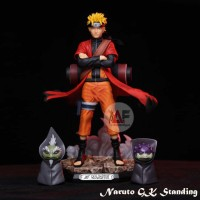Action figure Uzumaki Naruto GK original statue custom free 2 frogs