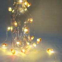 Lampu hias dekorasi LED bntuk semangka tumblr string fairy 20 led kado