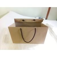 Paper Bag | Tas Kertas Kraft Polos untuk Kue Kering/Brownies/Kado