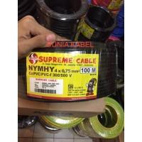 Kabel Serabut /NYYHY Supreme 4x0.75 4x0,75 4 x 0.75 4 x 0,75 @100meter