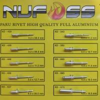NUFOSS - Paku Rivet 640 4.8 X 11 mm