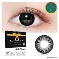 Softlens Koko Black / Soflens X2 Exoticon / Softlens Black Big E