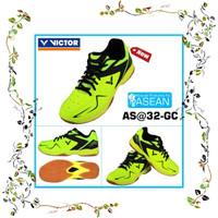Sepatu Badminton Victor AS32 GC Size 39 - 45 Green Black berkualitas