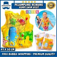 INTEX Pelampung Rompi Renang Anak / Berenang - BABY SWIM VEST 59661