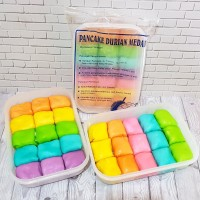 Pancake Durian Medan isi 15 (ada cream)
